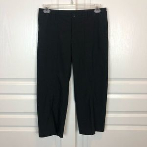 PATAGONIA Cropped Wide Leg Hiking Pants Black